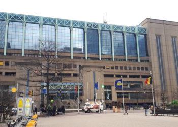Brussels North Station entrance - Simon Bolivar/WikimediaCoommons