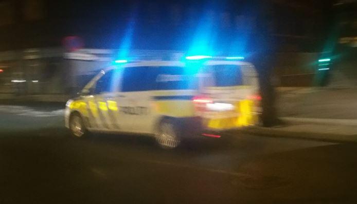 Uttrykning, politiet i Oslo. Foto: Lykten.no