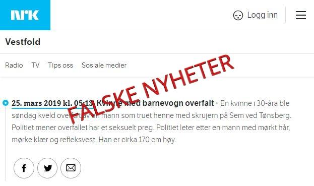 (Skjermbilde/NRK  Vestfold/Lykten.no).
