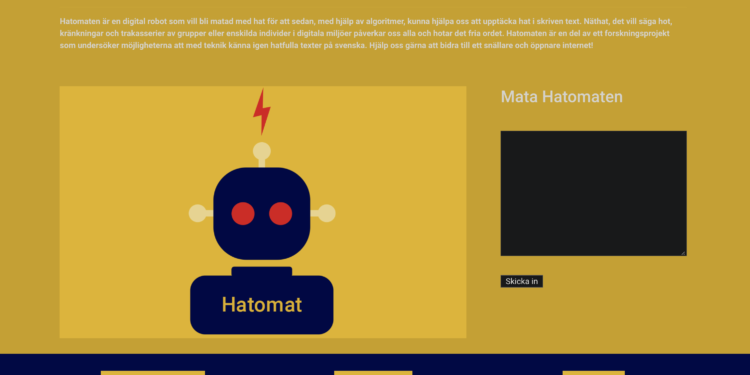 BILDE: Skjermdump fra hatomaten.com.