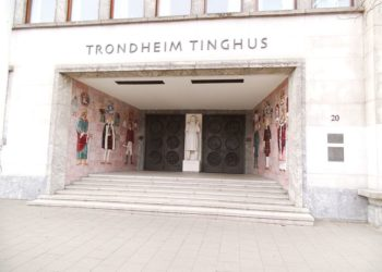 Foto: Trondheim Tinghus. (Creative Commons Attribution-Share Alike 3.0 Unported/Ezzex)
