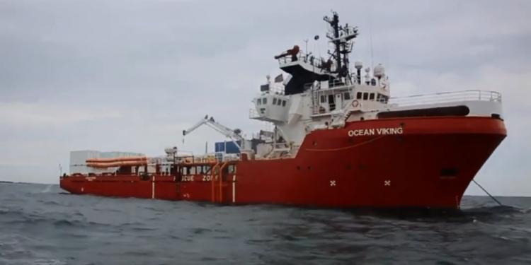 OCEAN VIKING. (Skjermbilde/Youtube)